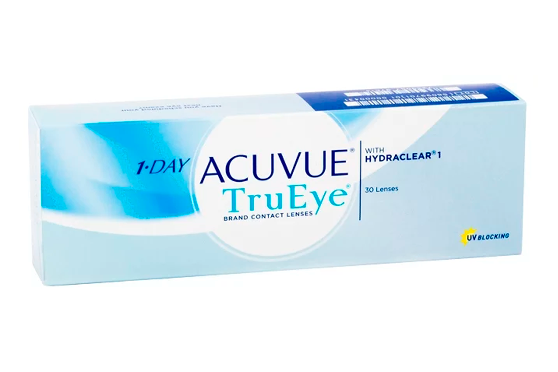 Контактные линзы Johnson & Johnson 1-Day Acuvue Tru Eye (30)